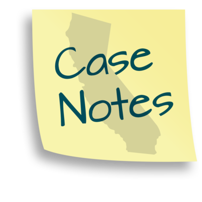 California Personal Injury Law Case Notes logo